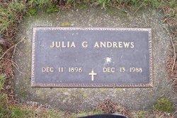 Julia G Andrews