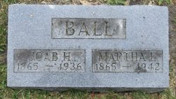Martha Ellen <i>Butler</i> Ball