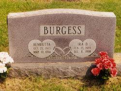 Ira D. Nig Burgess