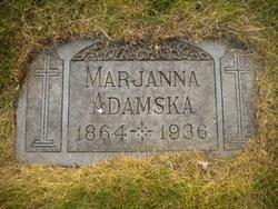 Mary C. Marjanna Adamska <i>Marzkiewicz</i> Adamski