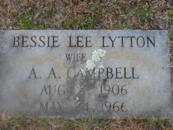 Bessie Lee <i>Lytton</i> Campbell