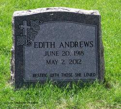 Edith Flossie <i>Prather</i> Andrews
