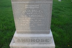 Julia E <i>Bailey</i> Ambrose
