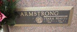 Sara <i>Peavy</i> Armstrong