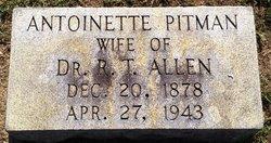Caroline Antoinette <i>Pitman</i> Allen