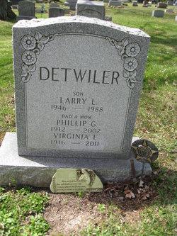 Virginia <i>Pusey</i> Detwiler