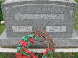 Inez B. <i>Burwell</i> Anderson