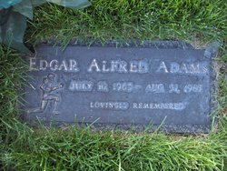 Edgar Alfred Adams