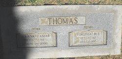 Virginia Rue <i>Crabtree</i> Thomas