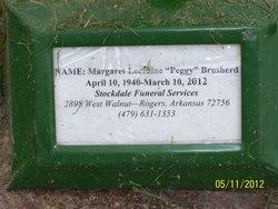 Margaret Lorraine Peggy Brusherd