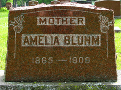 Amelia Albertine Louise Caroline <i>Goetsch</i> Bluhm
