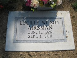 Lucille <i>Wilson</i> Airsman