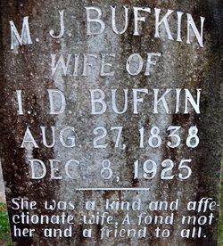 Margaret Jane Matilda <i>Cochran</i> Bufkin