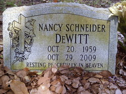 Nancy <i>Schneider</i> DeWitt