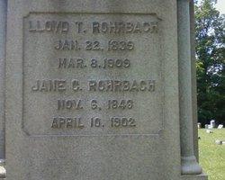 Jane Clementine Jennie <i>Haas</i> Rohrbach