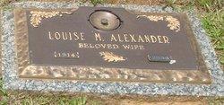 Mary Louise <i>McCall</i> Alexander