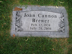 Joan <i>Cannon</i> Brewer