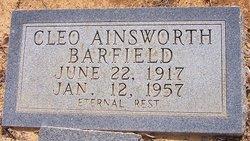 Cleo <i>Ainsworth</i> Barfield