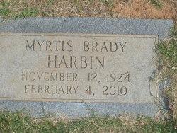 Myrtis <i>Brady</i> Harbin