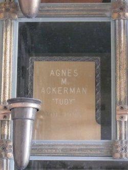 Agnes Martha <i>Smuda</i> Ackerman