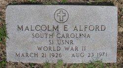 Malcolm Eugene Alford