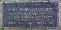 Mary Emma Crockett