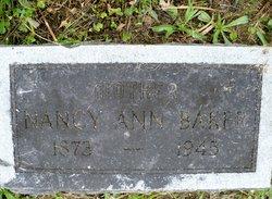 Nancy Ann <i>Cornett</i> Baker