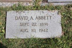 David Andrew D. A. Abbett