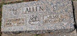 Christine V <i>Wolgast</i> Allen