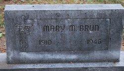 Mary M <i>Felix</i> Brun