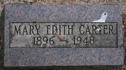 Mary Edith <i>Sherman</i> Carter