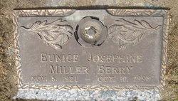 Eunice Josephie <i>Miller</i> Berry