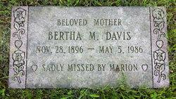 Bertha Melissa <i>Critchett</i> Davis
