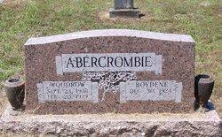 Woodrow Abercrombie