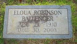 Eloua Mildred <i>Robinson</i> Ballenger