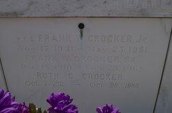 PFC Frank William Crocker, Jr