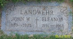 John William Jack Landwehr, Sr