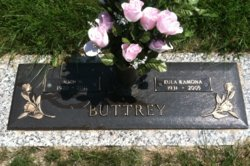 Eula Ramona Rae <i>Carter</i> Buttrey