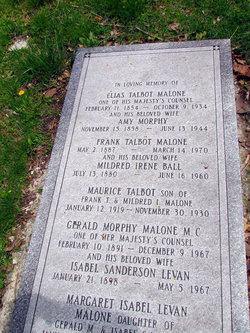 Amy <i>Morphy</i> Malone