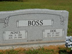 Agnes Mae <i>Simpson</i> Boss