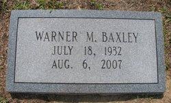 Warner M. Baxley