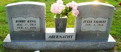 Bobby King Abernathy