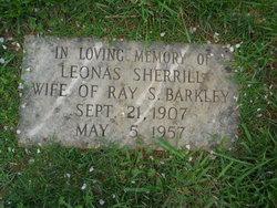 Leonas <i>Sherrill</i> Barkley