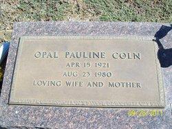 Opal Pauline Coln