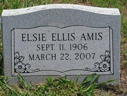 Elsie Mae <i>Ellis</i> Amis