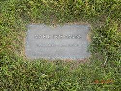 Marie <i>Fox</i> Amoss