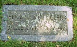 Alice Luemott Clark