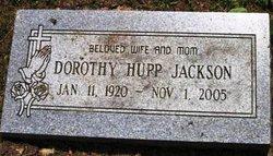 Dorothy Elizabeth <i>Hupp</i> Jackson