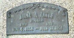 Julia A. <i>Stevenson</i> Alter