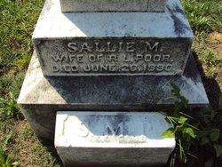 Sallie M. <i>Warwick</i> Poor